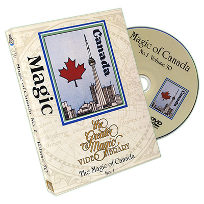 Greater Magic # 50 - Trucos de Magia de Canada Vol. 1 -DVD