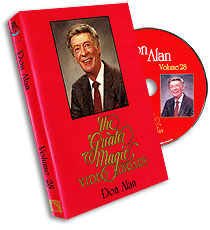 Greater Magic Video Library Vol 28 Don Alan