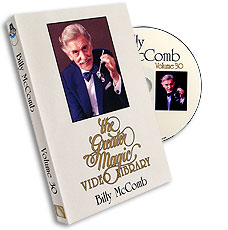 Greater Magic Video Library Vol 30 Billy McComb - DVD
