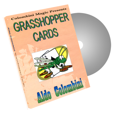 Grasshopper Cards by Wild-Colombini Magic - DVD