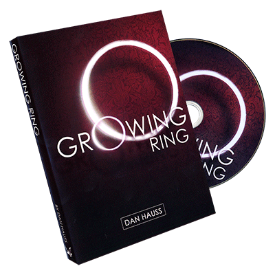 Growing Ring (props and DVD) by Dan Hauss and Paper Crane - DVD