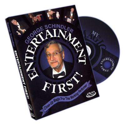 Entertainment First by George Schindler - DVD