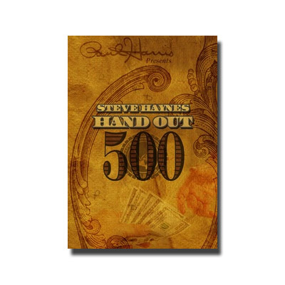 Paul Harris Presents Hand Out 500 by Steve Haynes - DVD