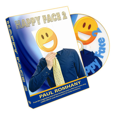 Happy Faces (Cards and DVD) by Paul Romhany - DVD