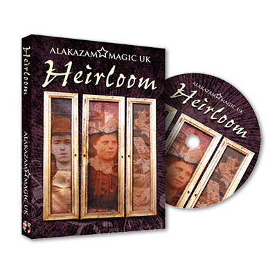 Heirloom (With DVD and Props) by Colin Miller, Jamie Badman, and Alakazam - DVD