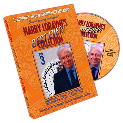 Harry Lorayne's Best Ever Collection Volume 3 by Harry Lorayne - DVD