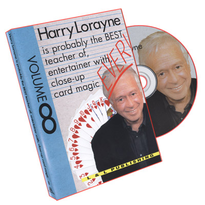 Lorayne Ever! Volume 8 by Harry Lorayne - DVD