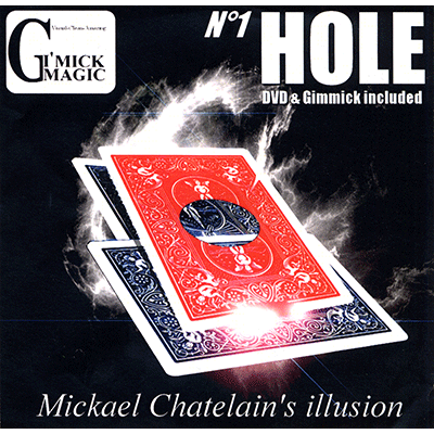 Hole (RED)(DVD and Gimmick)