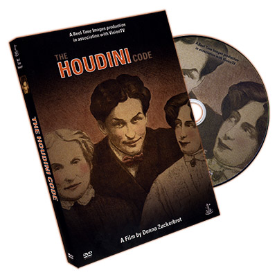 The Houdini Code by Donna Zuckerbrot - DVD