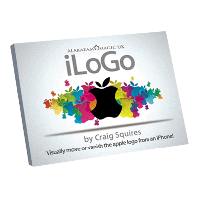 iLogo (DVD and Gimmick) Black by Craig Squires and Alakazam Magic - DVD