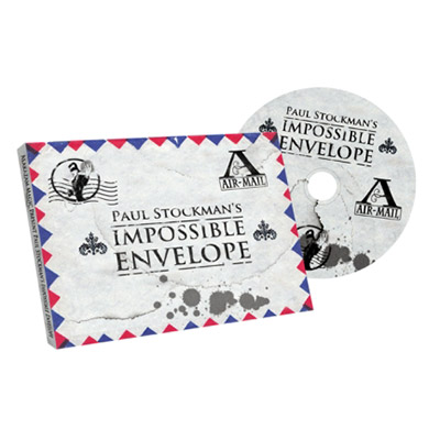 Impossible Envelope (Gimmick and DVD) by Paul Stockman and Alakazam Magic