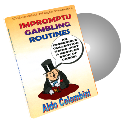 Impromptu Gambling Routines by Wild-Colombini Magic - DVD