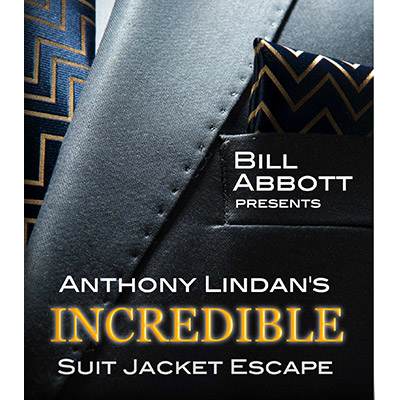 The Incredible Suit Jacket Escape (Routine, Script & DVD) - Anthony Lindan