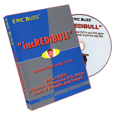 IncREDiBULL (Props and DVD) by Eric Buss - DVD