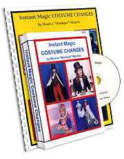Instant Costume Change w/book, DVD