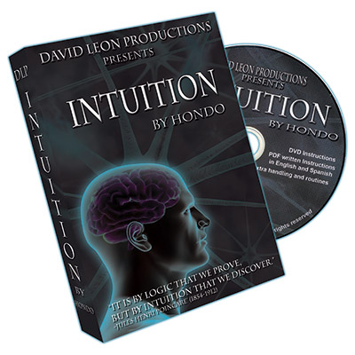 Intuition (With Cards and DVD) by Hondo and David Leon Productions - DVD