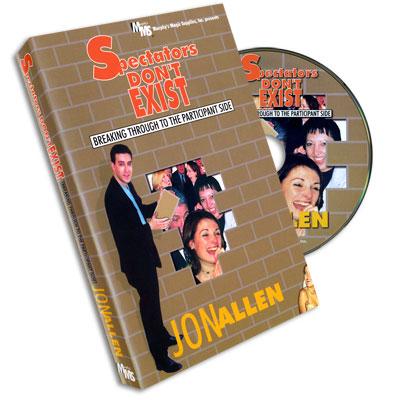 Spectators Don't Exist Jon Allen, DVD