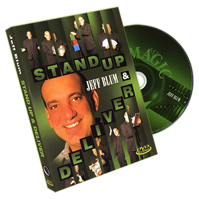 Stand Up and Deliver by Jeff Blum - DVD