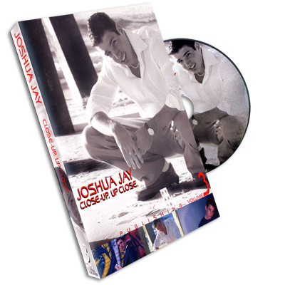 Close-Up, Up Close Vol #3 by Joshua Jay - DVD