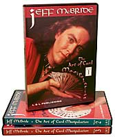 The Art Of Card Manipulation Vol.1 by Jeff McBride - DVD