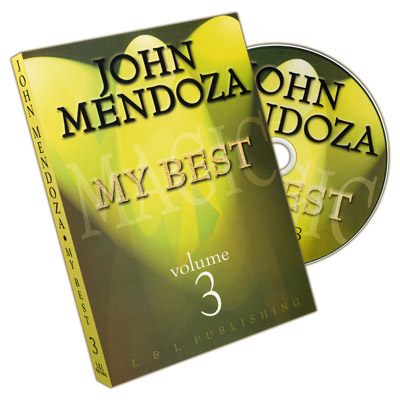 My Best - Volume 3 by John Mendoza - DVD