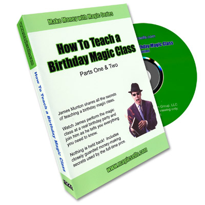How to Teach a Birthday Magic Class James Munton, DVD