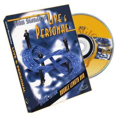 Live & Personal: John Mendoza - DVD