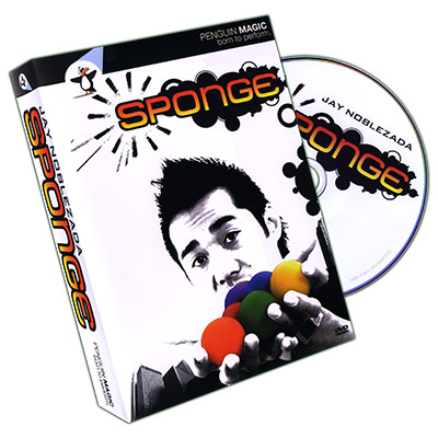 Sponge (DVD and 4 Sponge Balls) by Jay Noblezada