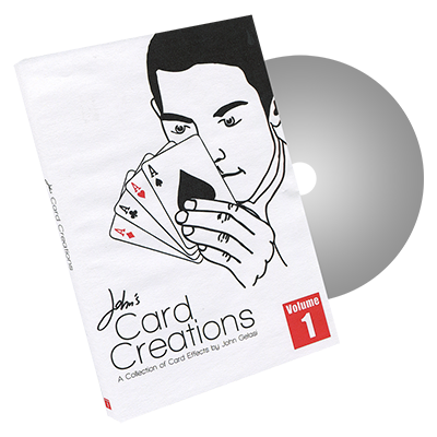 John's Card Creations Vol. 1 by John Gelasi and Wild-Colombini - DVD