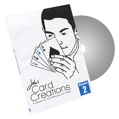 John's Card Creations Vol. 2 by John Gelasi and Wild-Colombini - DVD