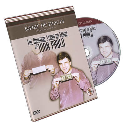 The Original Stand-Up Magic Of Juan Pablo Volume 1 by Bazar De Magia - DVD