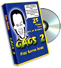 Gags Jim Pace- #2, DVD