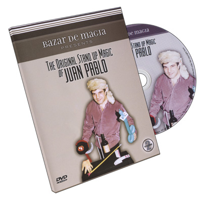 The Original Stand-Up Magic Of Juan Pablo Volume 2 by Bazar De Magia - DVD