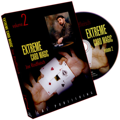 Extreme Card Magic Volume 2 by Joe Rindfleisch - DVD
