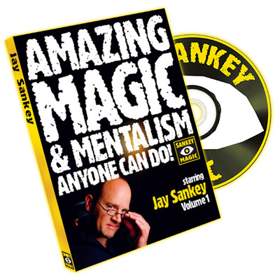 Amazing Magic and Mentalism Volume 1 by Jay Sankey - DVD