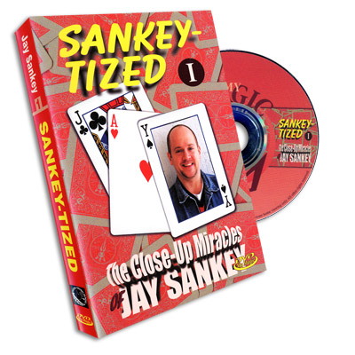 Sankey-Tized Vol 1 by Jay Sankey - DVD