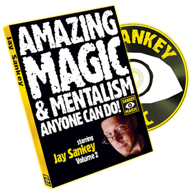 Amazing Magic and Mentalism Volume 2 by Jay Sankey - DVD