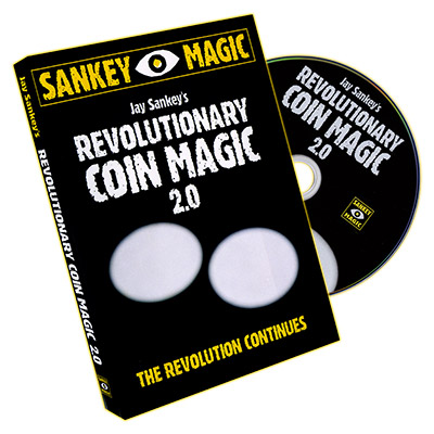 Revolutionary Coin Magic 2.0 by  Jay Sankey - DVD