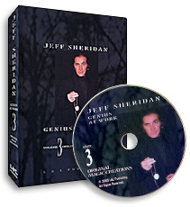 Jeff Sheridan Genius at Work Volume 3 Original Magic DVD