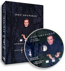 Jeff Sheridan Stand-Up Stun- #4, DVD