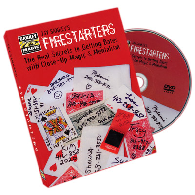 Firestarters by Jay Sankey - DVD
