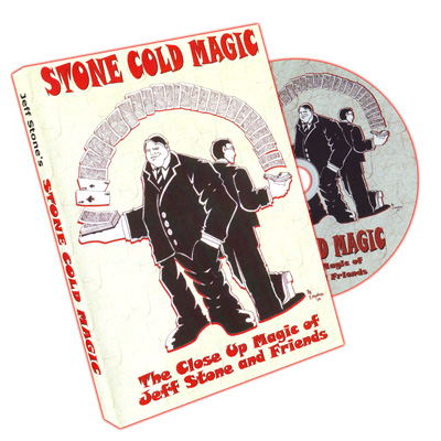 Stone Cold Magic by Jeff Stone - DVD