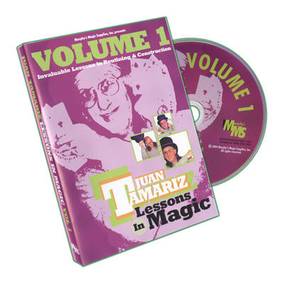 Lessons in Magic Volume 1 by Juan Tamariz - DVD