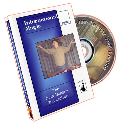 Juan Tamariz 2nd Lecture by International Magic - DVD