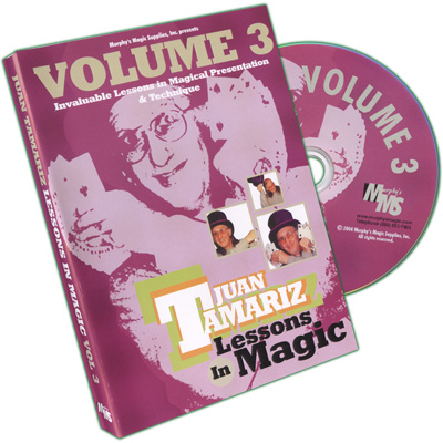 Lessons in Magic Volume 3 by Juan Tamariz - DVD