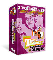3 Vol. Combo Juan Tamariz Lessons in Magic