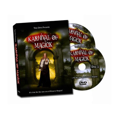 Karnival of Magick (2 DVD Set) by Tony Chris - DVD