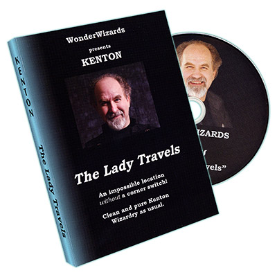 Lady Travels by Kenton Knepper - DVD