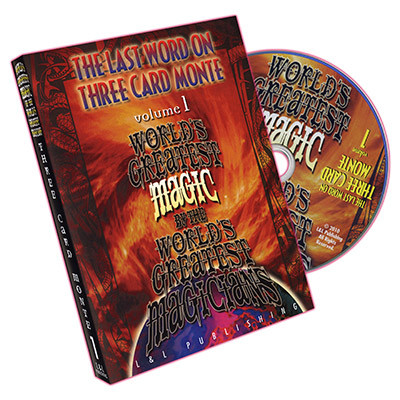 World's Greatest Magic:  The Last Word on Three Card Monte Vol. 1 by L&L Publishing - DVD