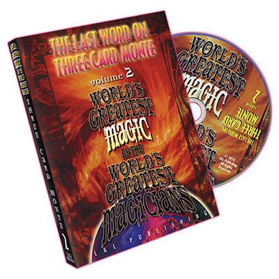 World's Greatest Magic: The Last Word on Three Card Monte Vol. 2 by L&L Publishing - DVD